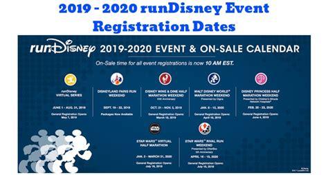 registration announced rundisney wdw kingdom