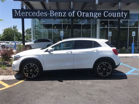 Perhaps the gla doesn't say suv loudly enough for consumers to hear. 2018 Mercedes-Benz GLA 250 4MATIC SUV | Polar White OC18-155