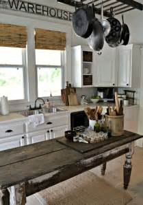 farmhouse kitchen island ideas 31 cozy and chic farmhouse kitchen décor ideas digsdigs