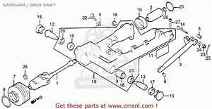Honda Gl1100 Gold Wing Aspencade 1983 Usa Swingarm    Drive Shaft