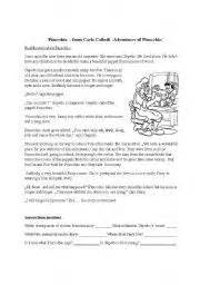 honesty pinocchio worksheets windsor academy character