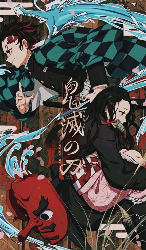 kimetsu  yaiba iphone hd wallpapers wallpaper cave