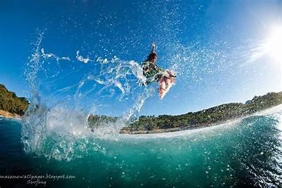 Surfing Desktop Wallpapers Extreme Backgrounds Sport Surf
