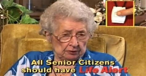 Life Alert Lady Meme - robocall scammers use life alert name to swindle seniors