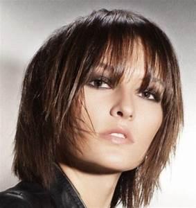 Coupe Cheveux Avec Frange : carre plongeant tendance avec frange ~ Nature-et-papiers.com Idées de Décoration