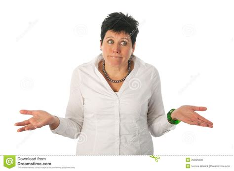 Really Don't Know Stock Photo. Image Of Black, Forty