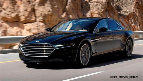 2015 Aston Martin Lagonda In 27 New Hot Weather Testing Photos