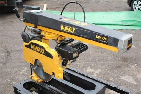 Dewalt Dw720 Radial Arm Saw- Very Nice Condition