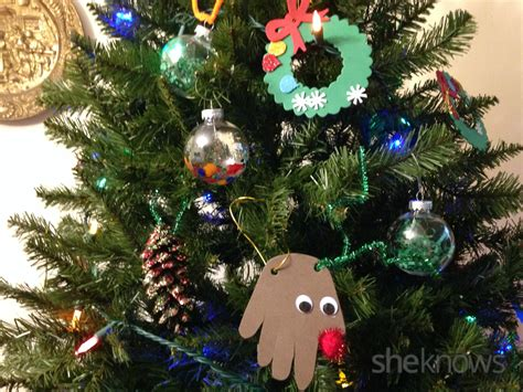 adorable christmas tree ornaments even kids can make