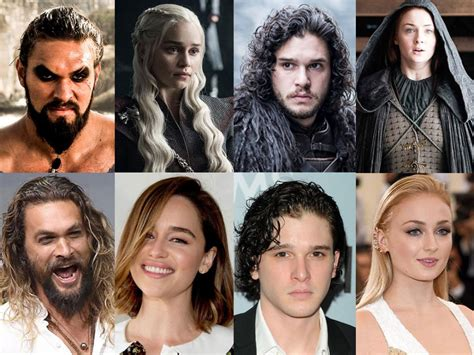 game  thrones main real  cast