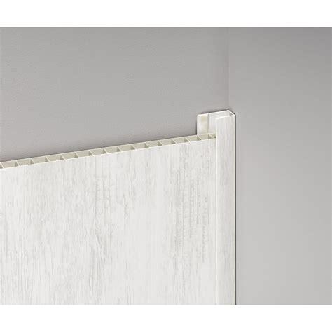 accessoir balancoire profil de d 233 part et finition pour lambris pvc 5 5 x 2 cm