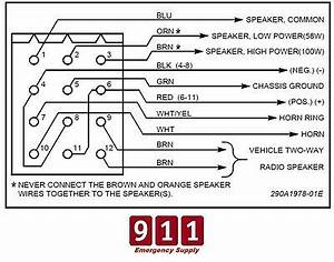 Federal Pa300 Siren Wiring Diagram : federal signal siren cable pa 300 ss200 power harness plug ~ A.2002-acura-tl-radio.info Haus und Dekorationen
