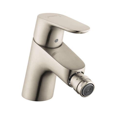 hansgrohe bidet hansgrohe focus e 1 handle bidet faucet in brushed nickel