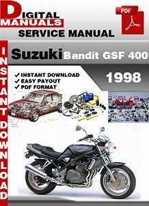 Suzuki Bandit Gsf 400 1998 Factory Service Repair Manual