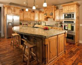 granite topped kitchen island 50 gorgeous kitchen designs with islands designing idea
