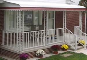 Mobile Home Porch Aluminum Railing