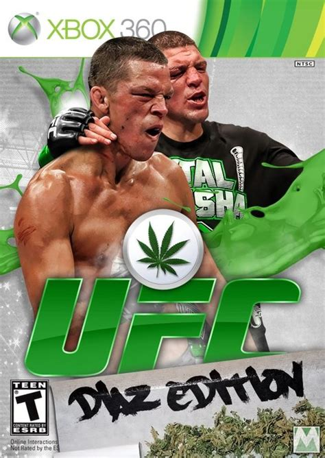 nick diaz edition xbox ufc fight game weed memes
