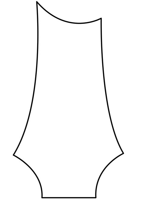 fender bass headstock template file prs headstock svg wikimedia commons