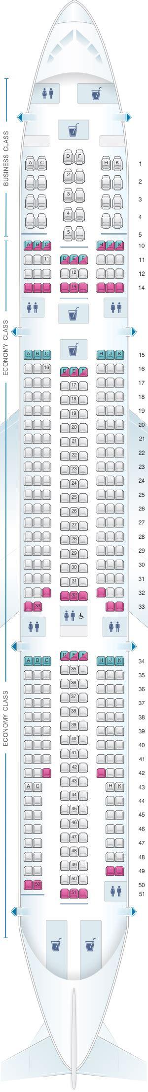 siege seat plan de cabine corsair airbus a330 300 seatmaestro fr