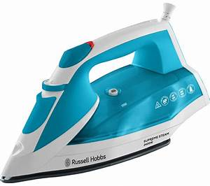 Buy RUSSELL HOBBS Supreme 23040 Steam Iron - White & Blue | Free Delivery | Currys  Iron