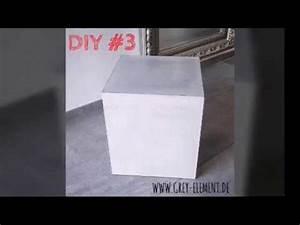 Beton Tisch Diy : beistelltisch betontisch selber machen diy tisch aus ~ A.2002-acura-tl-radio.info Haus und Dekorationen