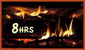 Christmas Fireplace Screensaver