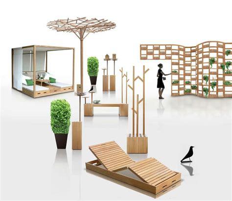 wooden outdoor furniture designs  deesawat green wall