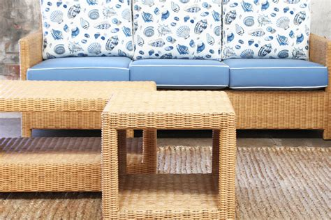 vintage verandah table ls st barts side table ls naturally rattan and wicker 6877