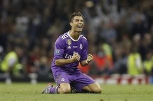 Cristiano Ronaldo brace gives Real Madrid third Champions ...