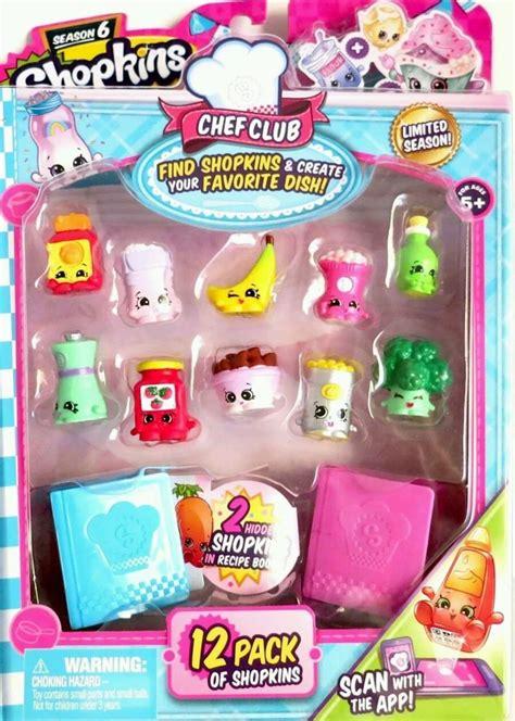 shopkins season 6 12 pack chef club limited edition random sets new ebay