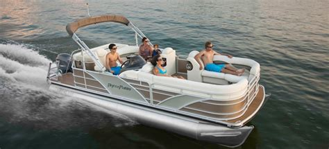 aqua patio pontoon bimini top new 2012 aqua patio ap 220 aft deck pontoon boat great