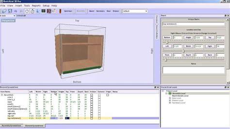 kitchen furniture design software cabinet design software sketchlist 3d v4 adding face frames youtube