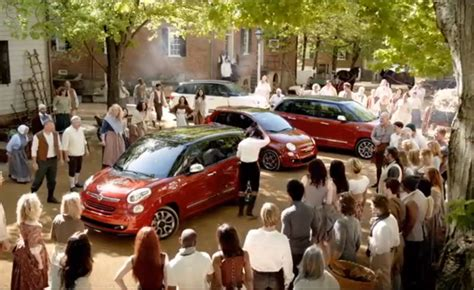 Fiat Commercial The Italians Are Coming by Fiat 500l Ad Puts A Spin On American History