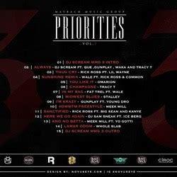 Priorities 3 Free Mixtape Download