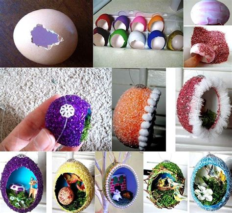 crafts to do diy easter home craft creative egg shell carvings find