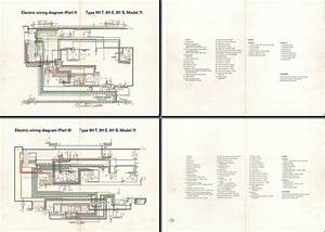 Electric Wiring Diagram 911  1971