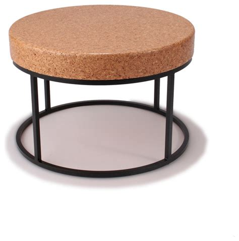Nimbus Cork Round Coffee Table  Modern  Coffee Tables