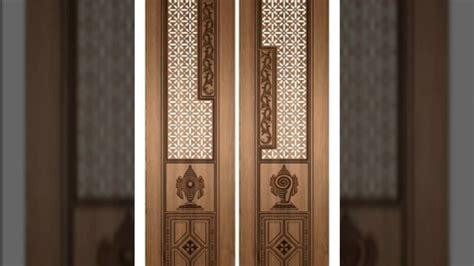 wooden frame mirror pooja room door designs poja doors 50 home pooja room