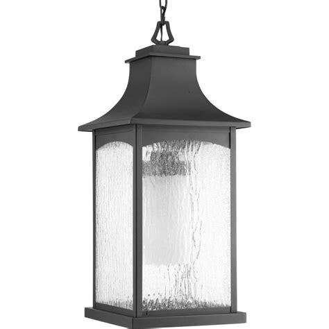 home depot hanging ls progress lighting maison collection 1 light outdoor black