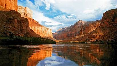 Scenery Mountain Grand Canyon Wallpapers Colorado River