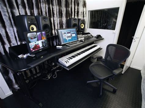 Although The New Studio Is Compact There's A Comfortably