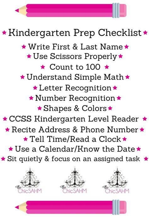 25 best ideas about kindergarten checklist on 866   b7ab33d8ea422d3076c37c8668cc05ce