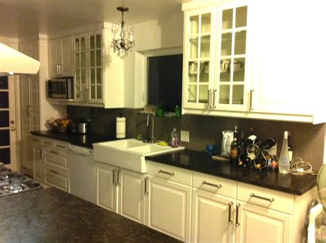 ikea lidingo kitchen cabinets ikea lidingo white with farm sink yelp 4580
