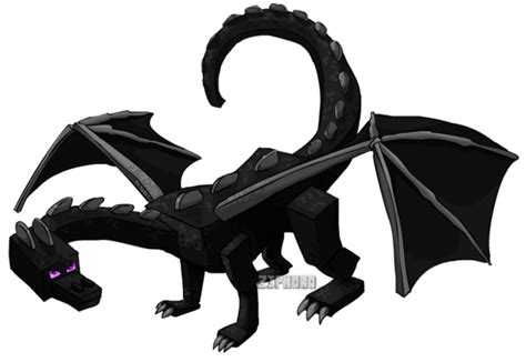 Ender Dragon By Ziphora On Deviantart
