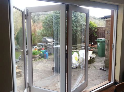 white bifold doors timber doors in high wycombe kirkman joinery