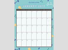 THE LEGIT CUTEST 2019 Printable Calendars! – Blogilates