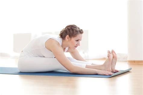 seated  bend yoga   strength training