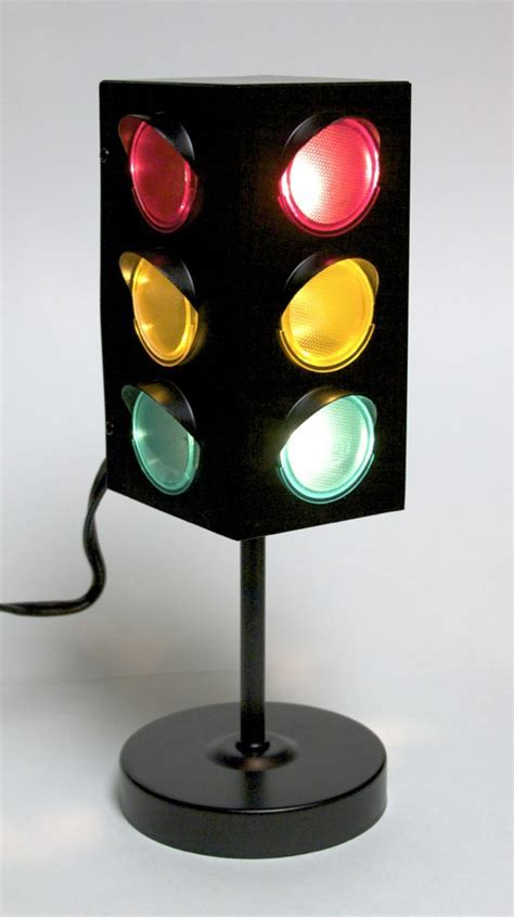 Traffic light decorations for the garage, kitchen, or