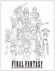Final Fantasy Sagas By Danixhap On DeviantArt