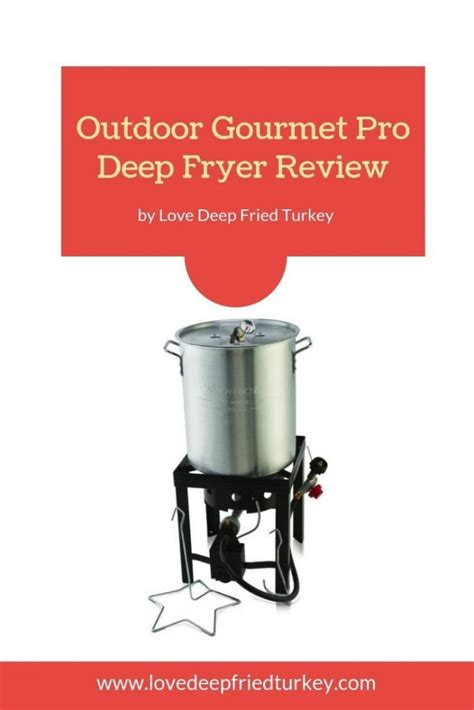 fryer outdoor gourmet turkey pro deep kit